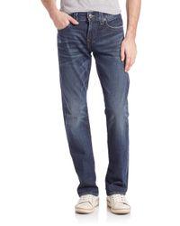 True Religion | Blue Ricky Relaxed Straight Leg Jeans for Men | Lyst
