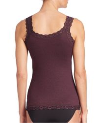 Hanky Panky - Black Heather Jersey Classic Camisole - Lyst