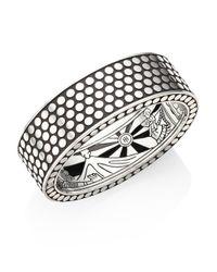 John Hardy | Metallic Dot Sterling Silver Cuff Bracelet | Lyst
