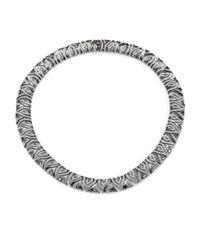Adriana Orsini | Metallic Vivienne Crystal Collar Necklace | Lyst