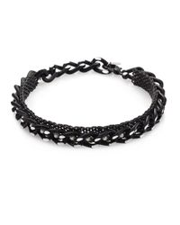 Erickson Beamon | Black Limelight Faux-pearl Chain Choker | Lyst