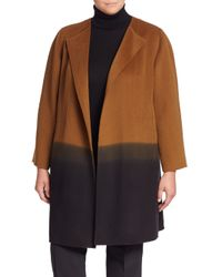 Lafayette 148 New York | Blue Hayes Cashmere Ombre Coat | Lyst