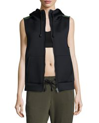 Alala | Black Hooded Bond Vest | Lyst
