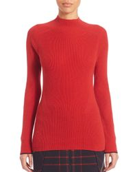 Rag & Bone | Red Natasha Cashmere Sweater | Lyst