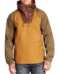PRPS | Multicolor Hooded Colorblock Anorak Jacket for Men | Lyst