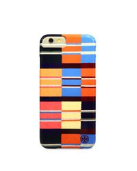 Tory Burch | Multicolor Rugby Stripe Hardshell Iphone 6 Case | Lyst