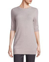 VINCE | Multicolor Elbow-length Sleeve Cashmere Sweater | Lyst