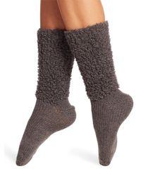 Brunello Cucinelli | Gray Cashmere Mid-calf Socks | Lyst