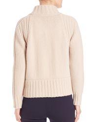 Weekend by Maxmara - Black Dingo Virgin Wool Cable-knit Sweater - Lyst
