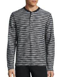 Madison Supply | Multicolor Striped Cotton Tee for Men | Lyst