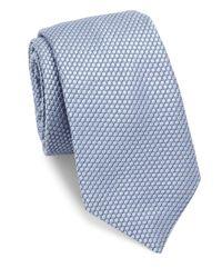 Ike Behar | Blue Medallion Silk Tie for Men | Lyst