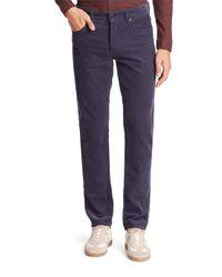 Lacoste   Blue Slim-fit Corduroy Pants for Men   Lyst