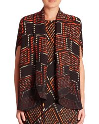 Issey Miyake - Multicolor Berry Pleated Jacket - Lyst