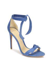 Alexandre Birman | Multicolor Clarita Suede Ankle-tie Sandals | Lyst
