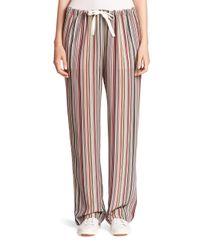 Theory | Multicolor Winszlee Silk Track Pants | Lyst