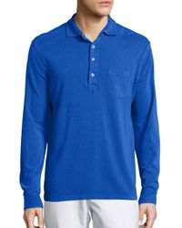 Polo Ralph Lauren | Blue Featherweight Mesh Estate Shirt for Men | Lyst