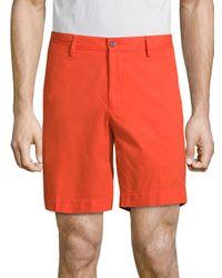 Polo Ralph Lauren | Orange Straight-fit Pima Chino Shorts for Men | Lyst