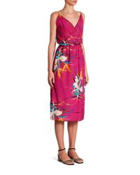 Marc Jacobs | Purple Tropical Printed Dress | Lyst