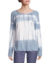 Joie | Blue Soft Annora Dye Knitted French Terry Top | Lyst