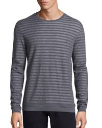 John Varvatos | Multicolor Cotton Striped Sweatshirt for Men | Lyst