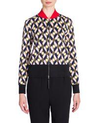 Marni - Multicolor Printed Jacquard Jacket - Lyst