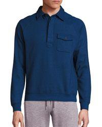 Orlebar Brown | Blue Mortimer Cotton Sweater for Men | Lyst