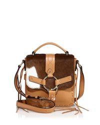 Rebecca Minkoff   Brown Darling Calf Hair & Leather Crossbody Bag   Lyst