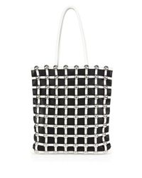Alexander Wang | Black Dome Stud Cage Shopper | Lyst