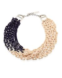 Lafayette 148 New York | Multicolor Multi-strand Link Necklace | Lyst