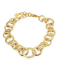 Nest | Metallic Short Chain Necklace | Lyst