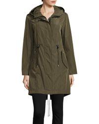 Mackage | Green Betzy Hooded Rain Jacket | Lyst
