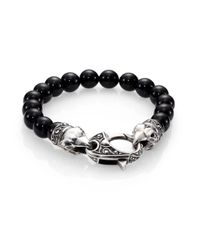 Stephen Webster | Black Coral Beaded Bracelet for Men | Lyst