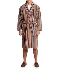 Paul Smith | Multicolor Multi-striped Robe for Men | Lyst