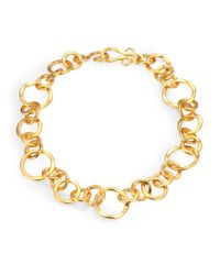 Stephanie Kantis | Metallic Coronation Large Chain Necklace/18 | Lyst