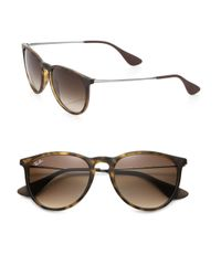 Ray-Ban | Brown Vintage-inspired Round Sunglasses | Lyst