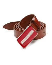 DSquared² | Textured Leather Belt for Men | Lyst