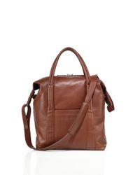 Maison Margiela | Brown Leather Shoulder Bag for Men | Lyst