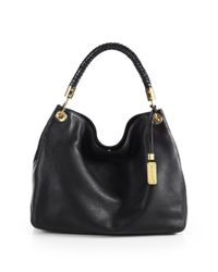 Michael Kors - Black Skorpios Large Hobo Bag - Lyst