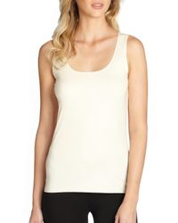 Wolford | White Pure Tank Top | Lyst