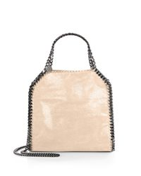 Stella McCartney | Metallic Mini Baby Bella Shoulder Bag | Lyst
