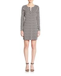 Diane von Furstenberg - Multicolor Reina Silk Dress - Lyst