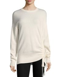 Joie - White Iphis Drawstring Sweater - Lyst