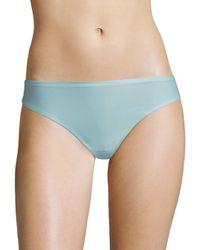 Chantelle - Blue Women's Soft Stretch Seamless Regular Rise Thong - Blushing Pink - Lyst