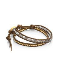 Chan Luu - Multicolor Mystic Smokey Mix Double-wrap Bracelet - Lyst