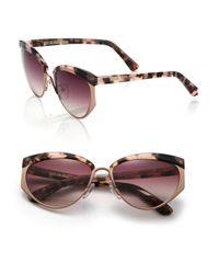 Cutler & Gross - Brown 1201 Kamikaze 59mm Acetate & Metal Sunglasses - Lyst
