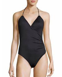 Lazul - Black Caelia Greta One-piece Swimsuit - Lyst