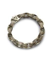 Stephen Webster - Metallic Carved Thorn Bracelet for Men - Lyst