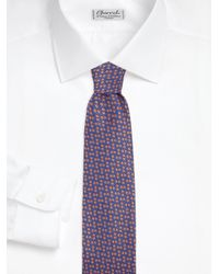 Charvet - Yellow Neat Silk Tie for Men - Lyst