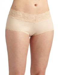 Cosabella - Natural Never Say Never Ultra-stretch Boyshorts - Lyst