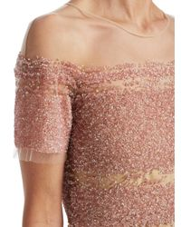 Pamella Roland - Multicolor Signature Sequin Sheath Dress - Lyst
